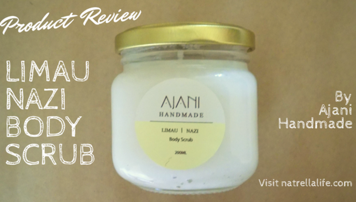 Limau Body Scrub Review