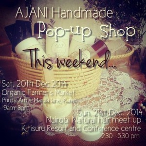 AJANI Handmade Pop- up Shop: CHRISTMAS EDITION