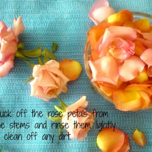DIY Homemade Rosewater +Lemon +Tea tree toner